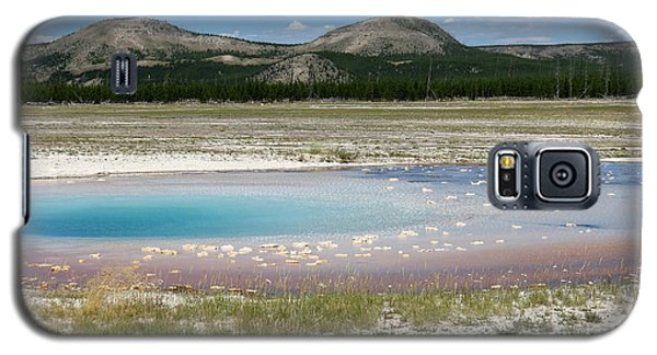 Galaxy S5 Case featuring the photograph Yellowstone Landscape by Laurel Powell
