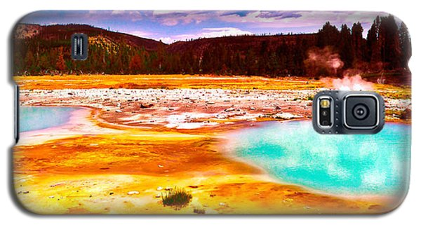 Yellowstone National Park Galaxy S5 Case