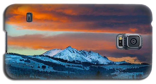 Yellowstone Sunset Galaxy S5 Case