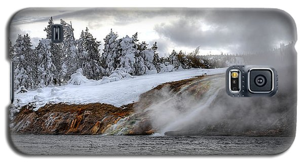 Yellowstone's Fire And Ice Galaxy S5 Case