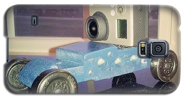Professional Galaxy S5 Case - Yep, My Son Wanted A Gopro Ready by Chris Morgan