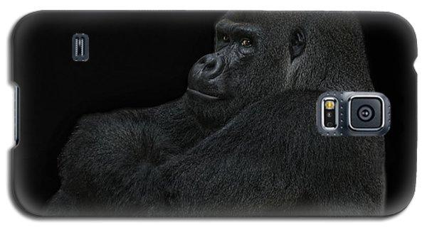 Gorilla Galaxy S5 Case - yes I m the great pretender by Joachim G Pinkawa