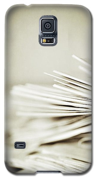 Galaxy S5 Case featuring the photograph Yesterday's News by Trish Mistric