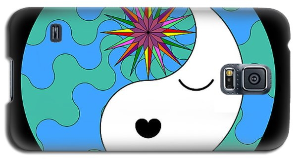 Yin Yang Crown 4 Galaxy S5 Case