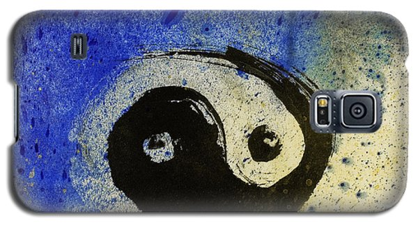 Yin Yang Painting Galaxy S5 Case by Peter v Quenter