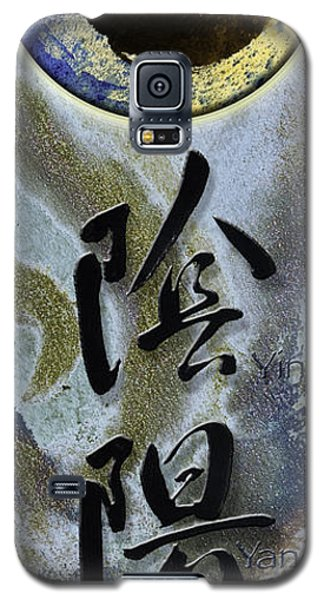 Yinyang Brush Calligraphy With Symbol Galaxy S5 Case