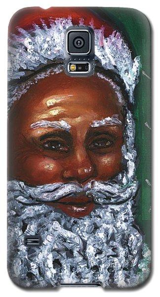 Galaxy S5 Case featuring the mixed media Yo Yo Yo . . .  Merry Christmas by Alga Washington