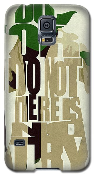 Yoda - Star Wars Galaxy S5 Case by Ayse Deniz