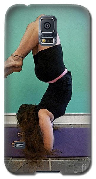 Yoga Study 10 Galaxy S5 Case by Sally Simon