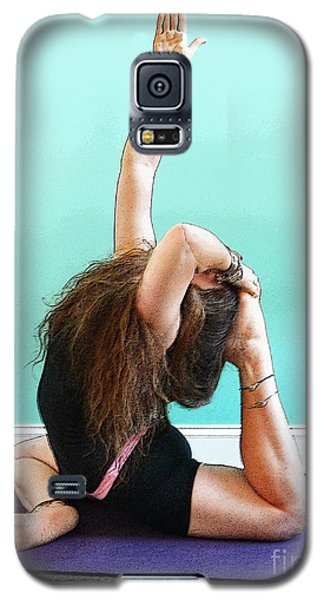 Yoga Study 3 Galaxy S5 Case by Sally Simon