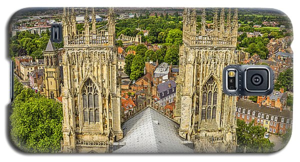 York From York Minster Tower Galaxy S5 Case