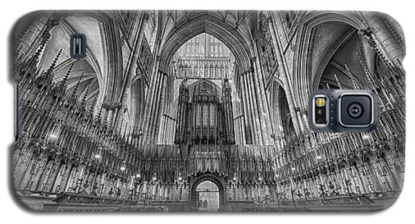 Galaxy S5 Case featuring the photograph York Minster Duotone I by Jack Torcello