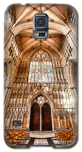 Galaxy S5 Case featuring the photograph York Minster II by Jack Torcello