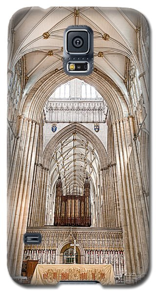 Galaxy S5 Case featuring the photograph York Minster IIi by Jack Torcello