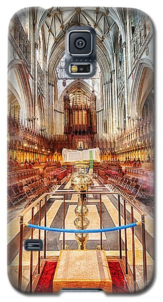 Galaxy S5 Case featuring the photograph York Minster V by Jack Torcello