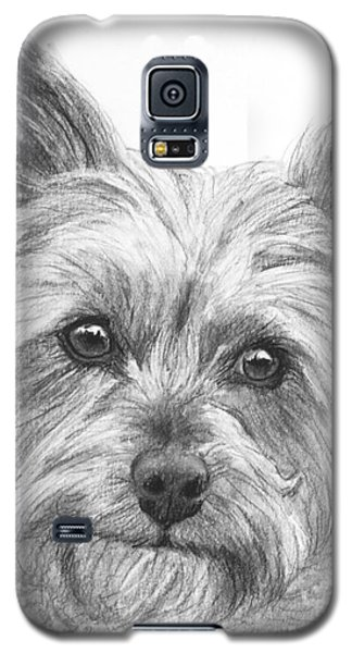 Yorkie Drawing Galaxy S5 Case