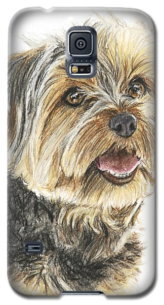 Yorkie In Color Galaxy S5 Case