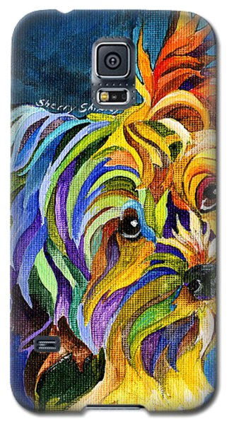 Yorkie Galaxy S5 Case