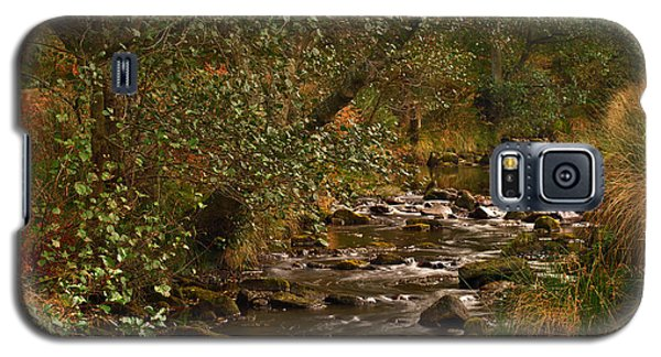 Yorkshire Moors Stream In Autumn Galaxy S5 Case
