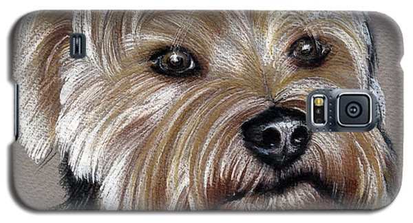 Yorkshire Terrier- Drawing Galaxy S5 Case
