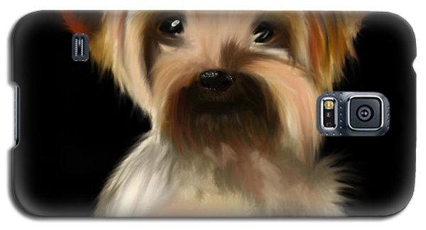 Yorkshire Terrier Pup Galaxy S5 Case