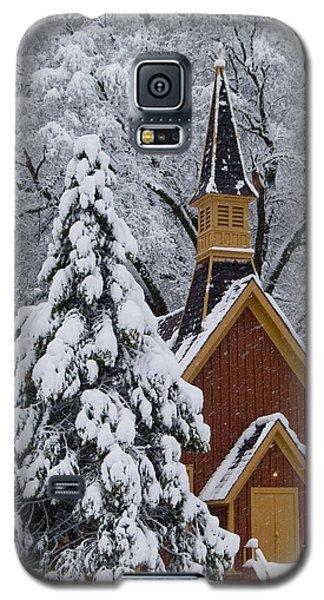 Yosemite Chapel Galaxy S5 Case