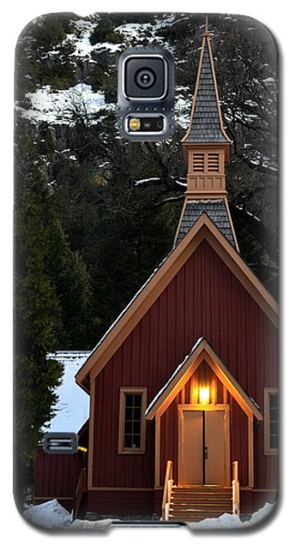 Yosemite Chapel Galaxy S5 Case
