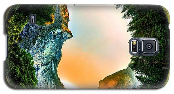 Yosemite National Park Galaxy S5 Case - Yosemite Circagraph by Az Jackson