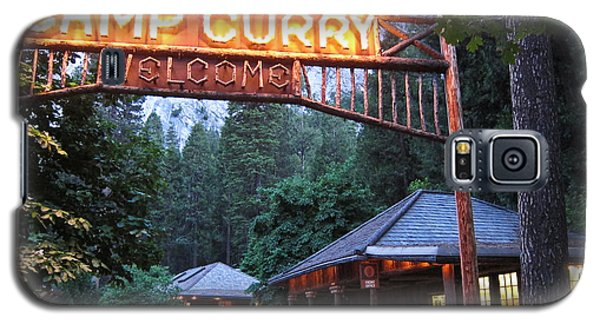 Galaxy S5 Case featuring the photograph Yosemite Curry Village by Shane Kelly