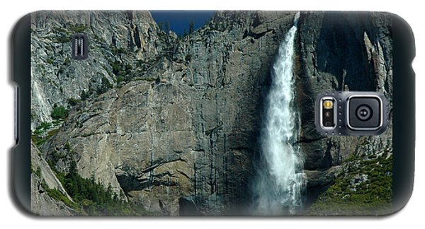 Galaxy S5 Case featuring the photograph Yosemite Falls by Nick  Boren
