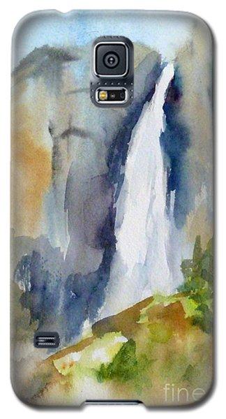Yosemite Falls Springtime Galaxy S5 Case