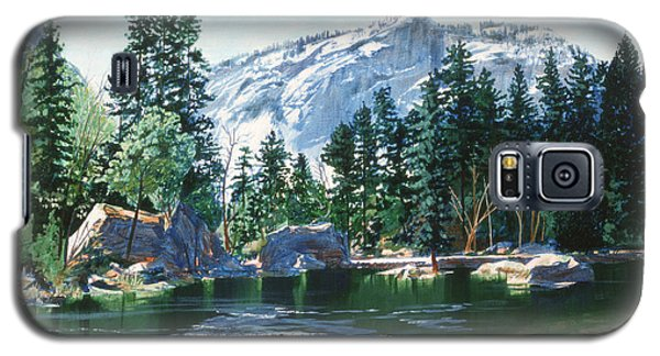Yosemite Mirror Lake Galaxy S5 Case