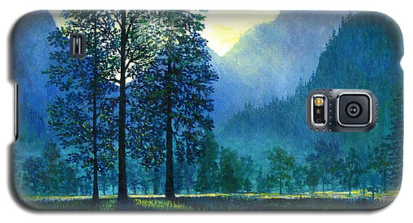 Yosemite Morning  Galaxy S5 Case by Lou Ann Bagnall