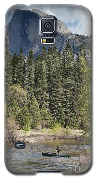 Yosemite National Park. Half Dome Galaxy S5 Case by Juli Scalzi