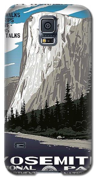 Yosemite National Park Vintage Poster 2 Galaxy S5 Case