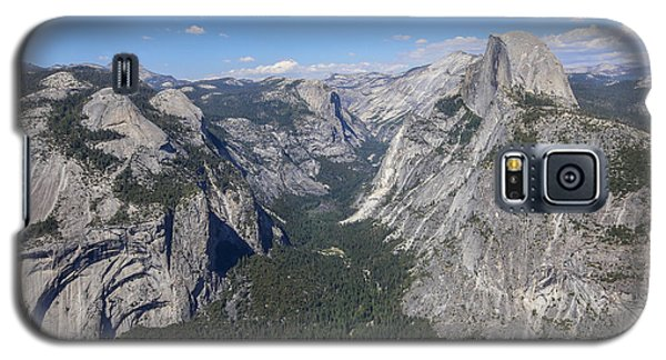 Yosemite Valley From Glacier Point Galaxy S5 Case