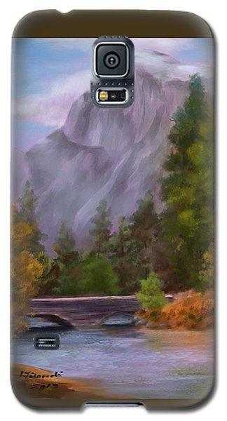 Yosemite Valley Half Dome Galaxy S5 Case by Judy Filarecki