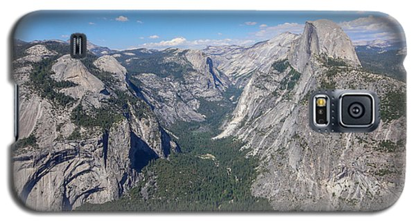 Yosemite Valley From Above Galaxy S5 Case