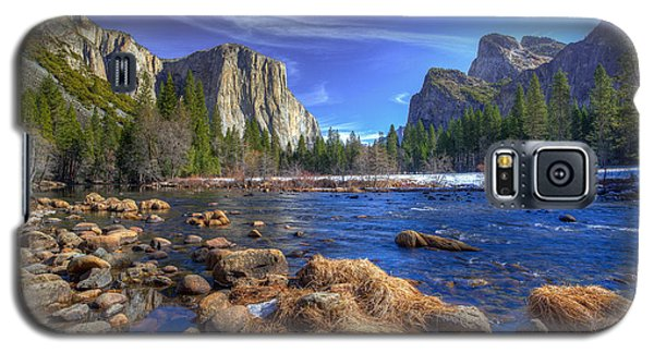 Yosemite's Valley View Galaxy S5 Case by Mike Lee