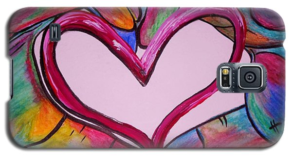 You Hold My Heart In Your Hands Galaxy S5 Case by Eloise Schneider