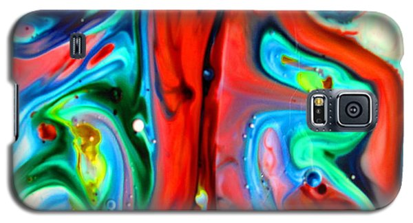 Galaxy S5 Case featuring the painting You Make Me Feel Like Dancing by Joyce Dickens