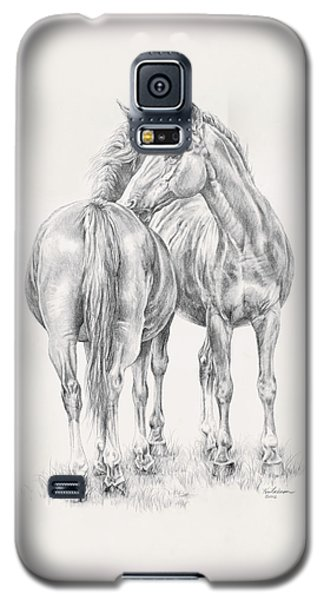 You Scratch My Back I'll Scratch Yours Galaxy S5 Case by Kim Lockman