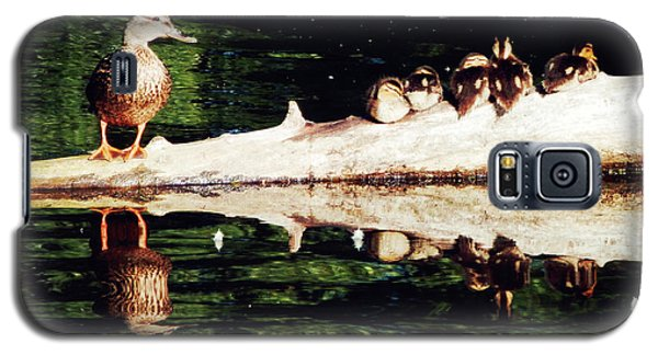 You Will Always Be Here In My Heart Galaxy S5 Case by Zinvolle Art