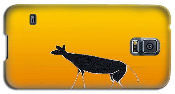 Young Antelope Galaxy S5 Case by Asok Mukhopadhyay