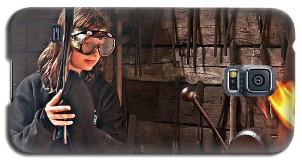 Young Blacksmith Girl Art Prints Galaxy S5 Case