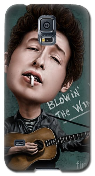 Young Bob Dylan Galaxy S5 Case by Andre Koekemoer