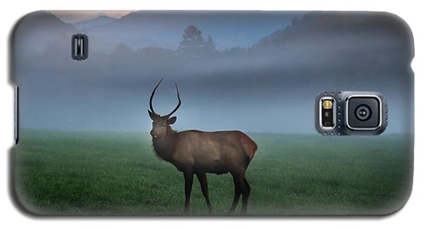 Young Bull Elk In The Pasture Galaxy S5 Case