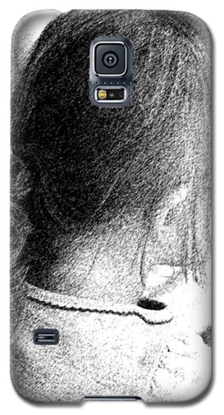 Galaxy S5 Case featuring the photograph Young Girl by Jennifer Muller