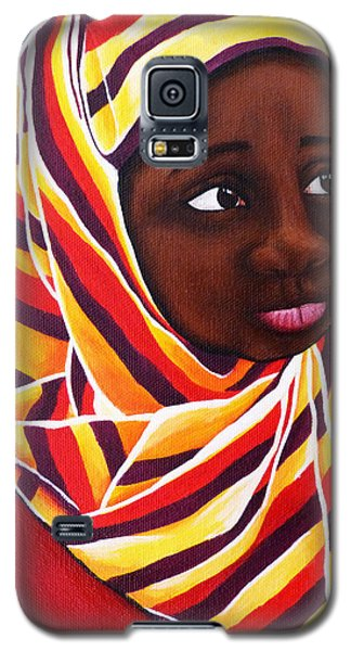 Young Girl Galaxy S5 Case