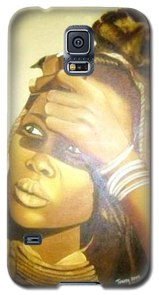 Young Himba Girl - Original Artwork Galaxy S5 Case
